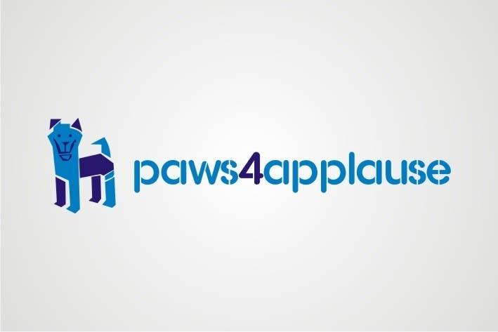 Penyertaan Peraduan #                                        3                                      untuk                                         Logo Design for Paws 4 Applause Dog Grooming