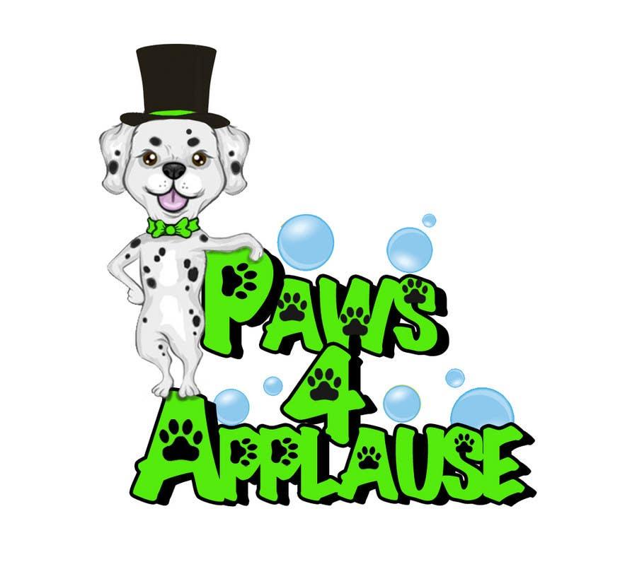 Penyertaan Peraduan #                                        102                                      untuk                                         Logo Design for Paws 4 Applause Dog Grooming