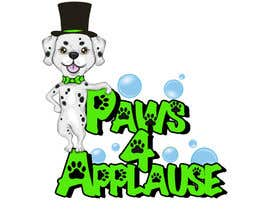 #102 untuk Logo Design for Paws 4 Applause Dog Grooming oleh shimmer2