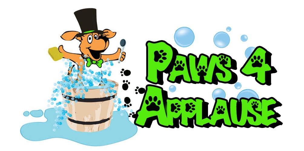 Konkurrenceindlæg #105 for Logo Design for Paws 4 Applause Dog Grooming