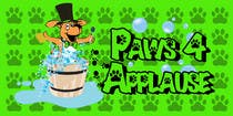Graphic Design Entri Peraduan #107 for Logo Design for Paws 4 Applause Dog Grooming