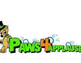 #58 für Logo Design for Paws 4 Applause Dog Grooming von Galhardo