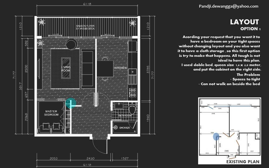 #42 for Need some Interior design by pandjibukandewa