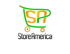 #33 cho Design a Logo for store america bởi johnnytuch13