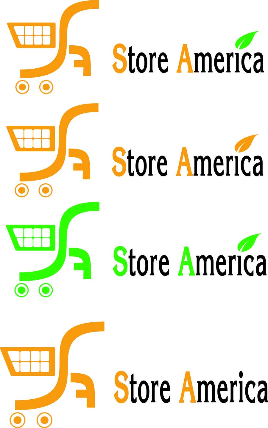 #25 for Design a Logo for store america by phumoemeo