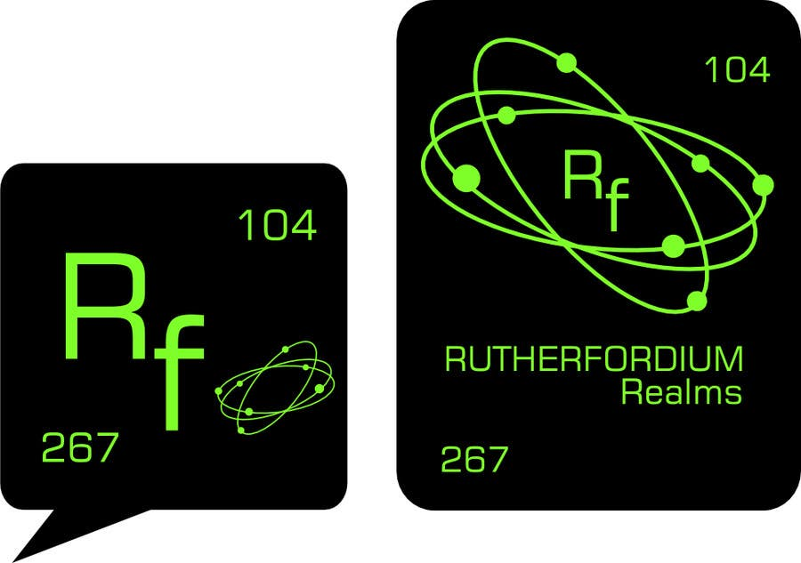 Konkurrenceindlæg #55 for Design a Logo for Rutherfordium Realms