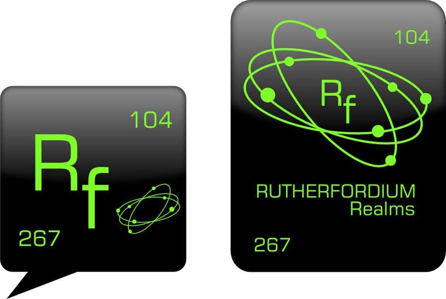 Konkurrenceindlæg #57 for Design a Logo for Rutherfordium Realms