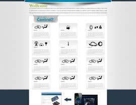 #6 for Design a Website Mockup electronics website af m2ny