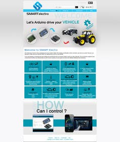 #7 for Design a Website Mockup electronics website by grafixeu