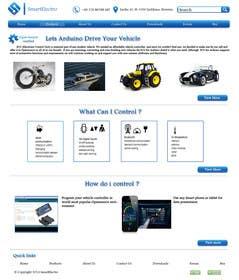 #3 for Design a Website Mockup electronics website by sirajthapa18
