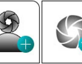 #9 para Design four Icons for a Photography Website por yasinsh89