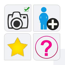 #4 for Design four Icons for a Photography Website by vbpremium