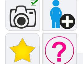 #4 untuk Design four Icons for a Photography Website oleh vbpremium