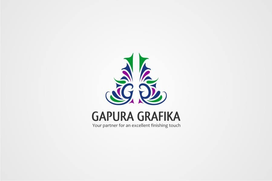 Конкурсная заявка №203 для Logo Design for Logo For Gapura Grafika - Printing Finishing Services Company - Upgraded to $690