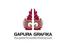 #88 untuk Logo Design for Logo For Gapura Grafika - Printing Finishing Services Company - Upgraded to $690 oleh smarttaste