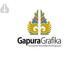 #85 para Logo Design for Logo For Gapura Grafika - Printing Finishing Services Company - Upgraded to $690 de smarttaste