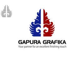 #217 para Logo Design for Logo For Gapura Grafika - Printing Finishing Services Company - Upgraded to $690 de smarttaste