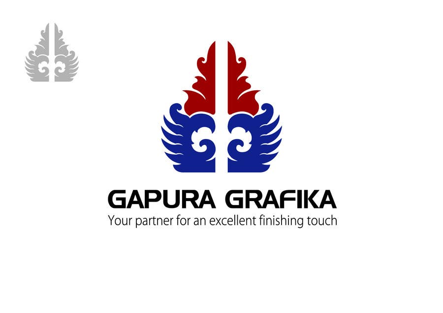 Конкурсная заявка №216 для Logo Design for Logo For Gapura Grafika - Printing Finishing Services Company - Upgraded to $690