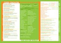 Bài tham dự #6 về Graphic Design cho cuộc thi I need some Graphic Design for Salad bar Menu