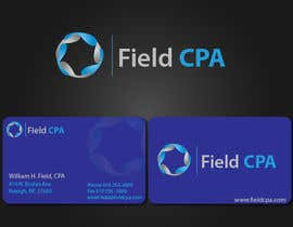 #27 untuk Business Card Logo Design for FIELD CPA oleh rashedhannan