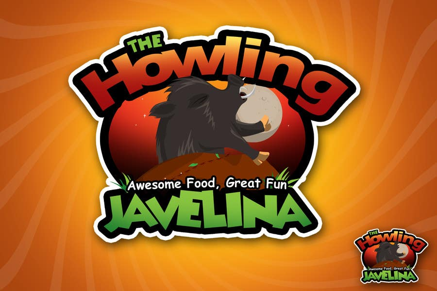 #33 for Design new logo for The Howling Javelina by rogeliobello