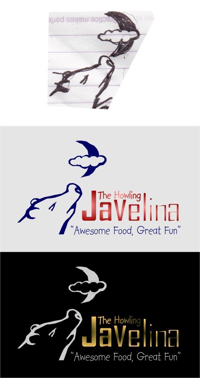#66 for Design new logo for The Howling Javelina by Sudjarwovovich