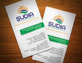 nº 102 pour Business Card Design for SUDIA (Aka Sudanese Development Initiative) par StrujacAlexandru