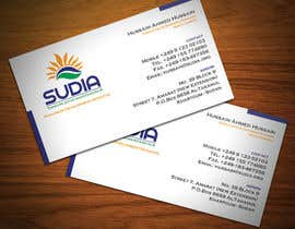 #13 for Business Card Design for SUDIA (Aka Sudanese Development Initiative) by StrujacAlexandru