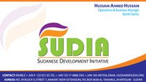 Graphic Design Contest Entry #60 for Business Card Design for SUDIA (Aka Sudanese Development Initiative)
