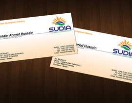 Zveki tarafından Business Card Design for SUDIA (Aka Sudanese Development Initiative) için no 69