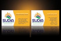 Graphic Design Contest Entry #97 for Business Card Design for SUDIA (Aka Sudanese Development Initiative)