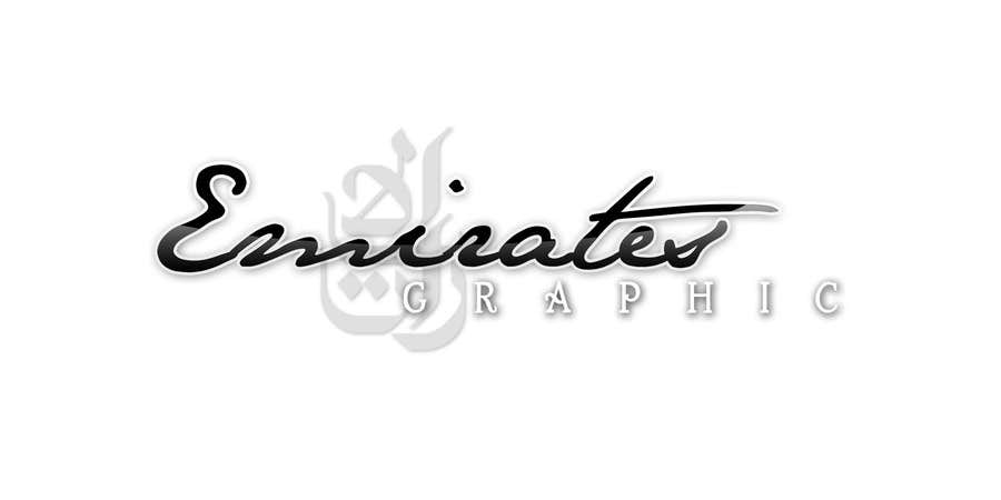#41 for Design a Logo for my Company called EmiratesGraphic by bryn27