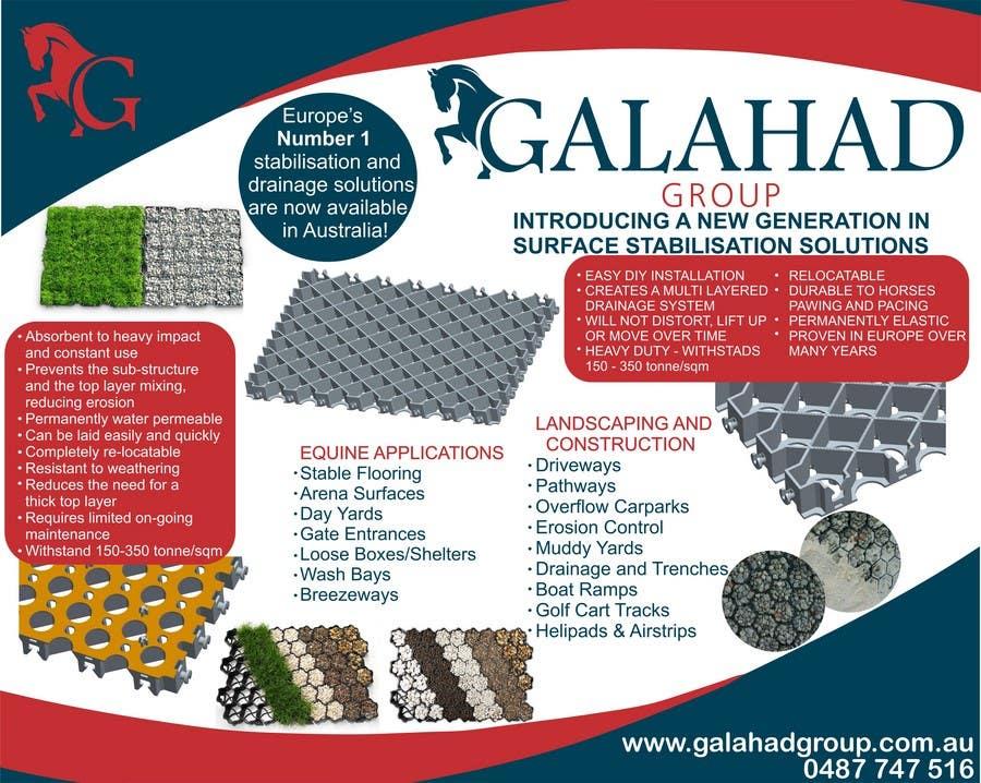 Konkurrenceindlæg #11 for Graphic Design for Galahad Group Pty Ltd