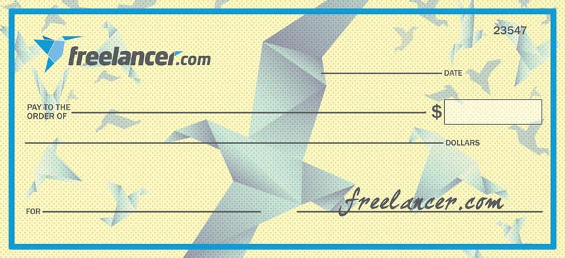 Proposition n°19 du concours Design a novelty check for Freelancer.com