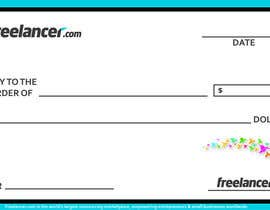 #42 for Design a novelty check for Freelancer.com by nishu90