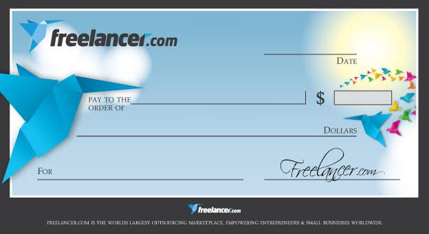 Proposition n°11 du concours Design a novelty check for Freelancer.com