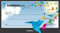 Design a novelty check for Freelancer.com için Graphic Design30 No.lu Yarışma Girdisi