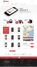 #79 for Design a strongly branded Mobile Phone Content Website by SadunKodagoda