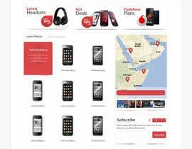 SadunKodagoda tarafından Design a strongly branded Mobile Phone Content Website için no 89