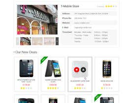 #82 para Design a strongly branded Mobile Phone Content Website por elshahat