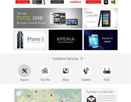 #86 para Design a strongly branded Mobile Phone Content Website por elshahat