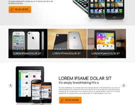 #90 para Design a strongly branded Mobile Phone Content Website por designgallery87