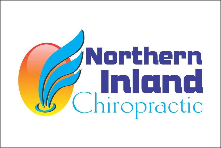 Kilpailutyö #118 kilpailussa Logo Design for Northern Inland Chiropractic
