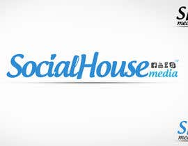 #448 para Logo Design for Social House Media por pakdyziner