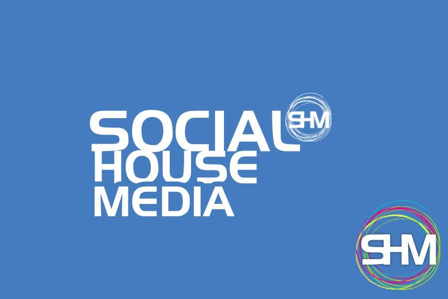 Bài tham dự cuộc thi #356 cho Logo Design for Social House Media