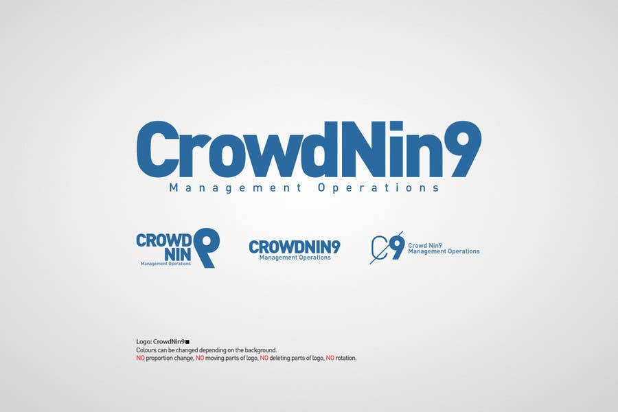 Contest Entry #71 for Logo Design for CrowdNin9