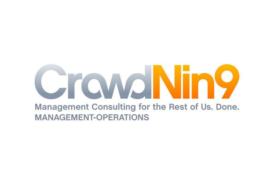 Inscrição nº                                         271                                      do Concurso para                                         Logo Design for CrowdNin9