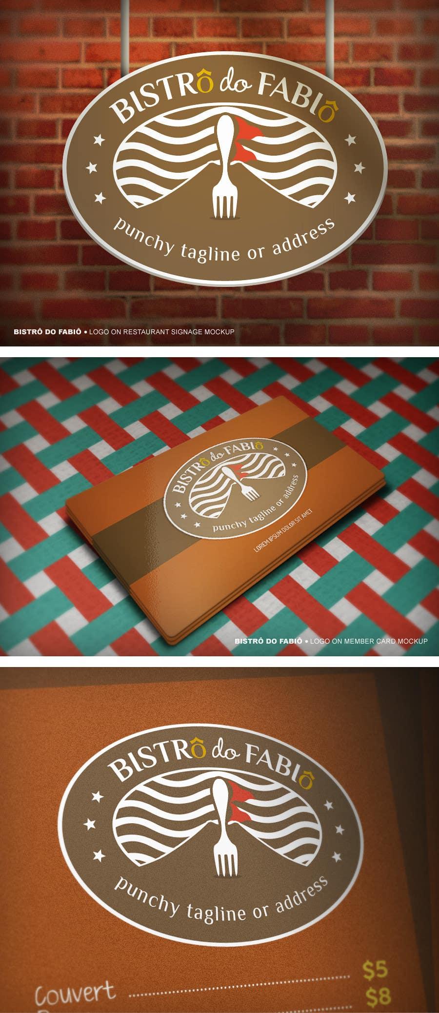 #36 for BistrÔ do FabiÔ Logo by candeed