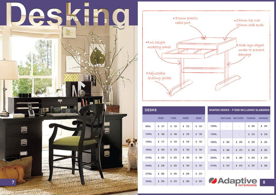 #20 for Design a Pricelist for Furniture by ProliSoft