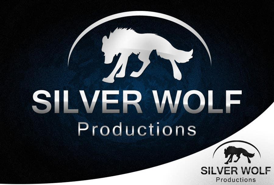 Penyertaan Peraduan #385 untuk Logo Design for Silver Wolf Productions